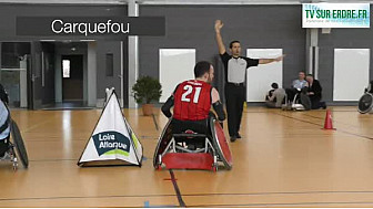 Rencontre Rugby Fauteuil